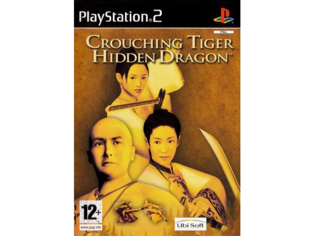 PS2 Crouching Tiger hidden dragon PS2