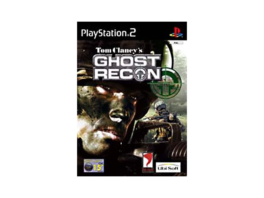 PS2 Tom Clancy's Ghost Recon