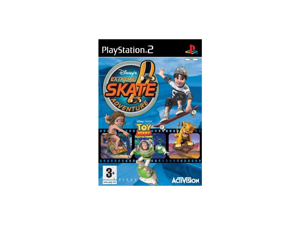 PS2 extreme skate