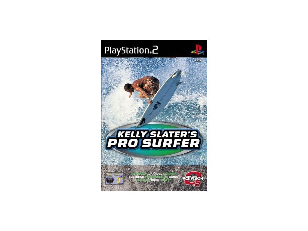 PS2 kelly pro surfer skater