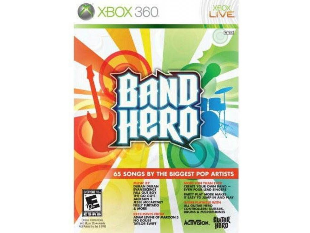 X 360 Band hero