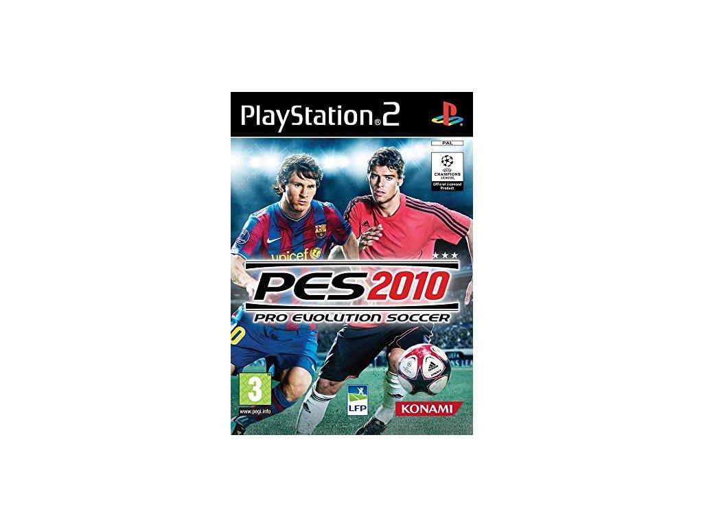 PS2 Pro Evolution Soccer 2010