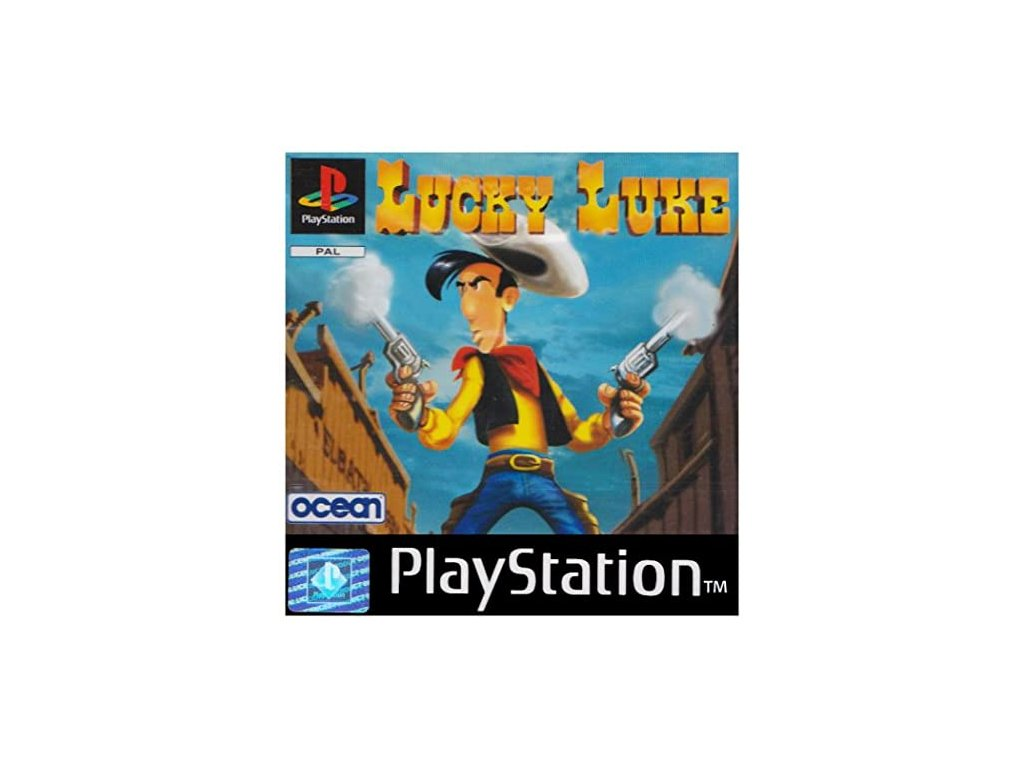 ps1 lucky luke