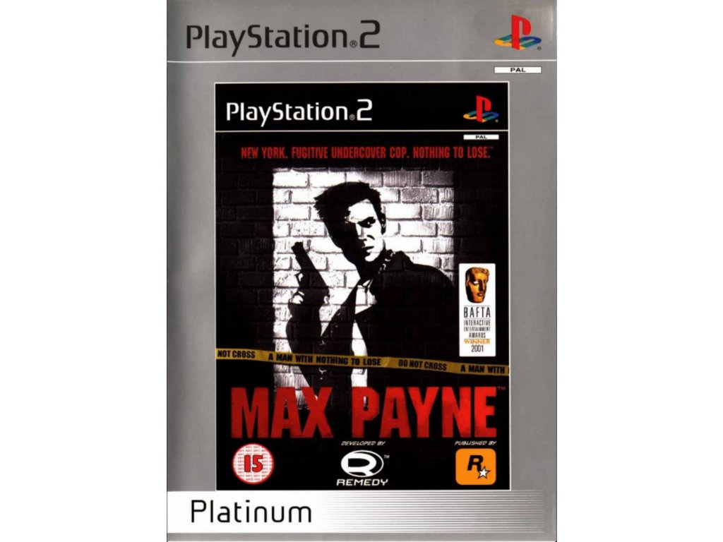 PS2 Max Payne PLATINUM