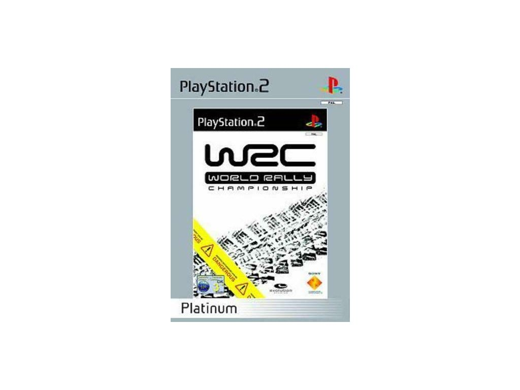 PS2 WRC: World Rally Championship PLATINUM