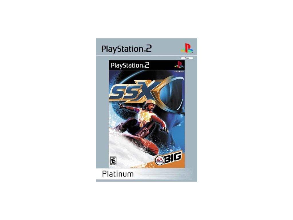 PS2 SSX PLATINUM