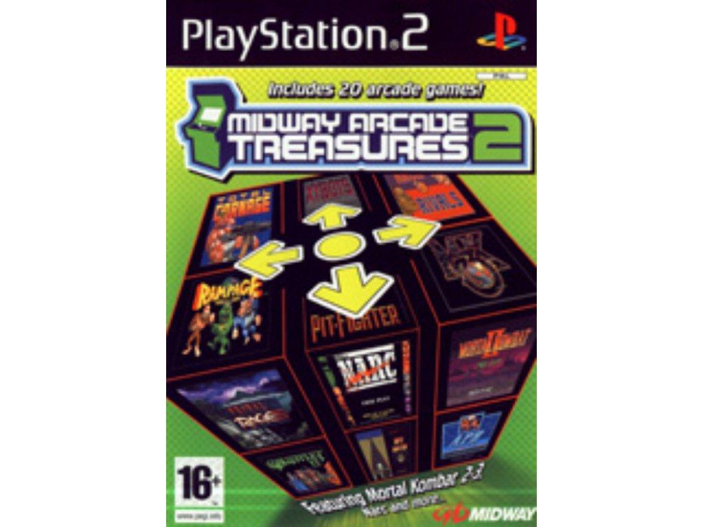 PS2 Midway Arcade Treasures 2