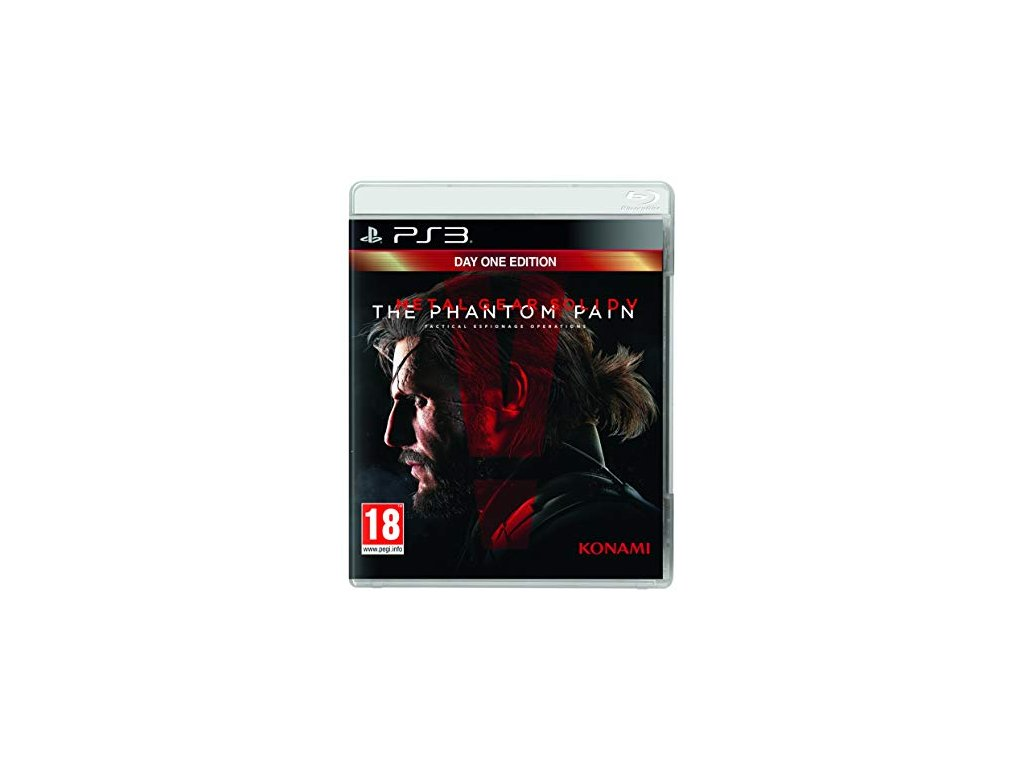 PS3 Metal Gear Solid V: The Phantom Pain - Day 1 Edition