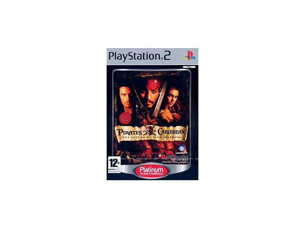 PS2 Pirates of Caribbean Legend of Jack Sparrow PLATINUM