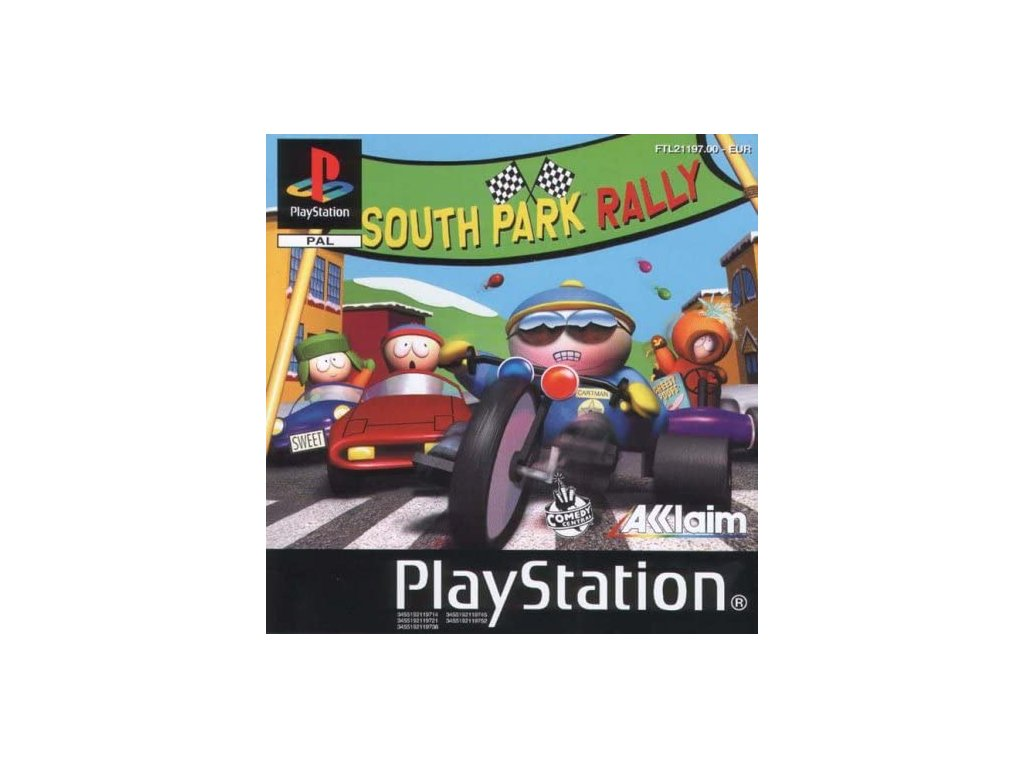 ps1 south park rally