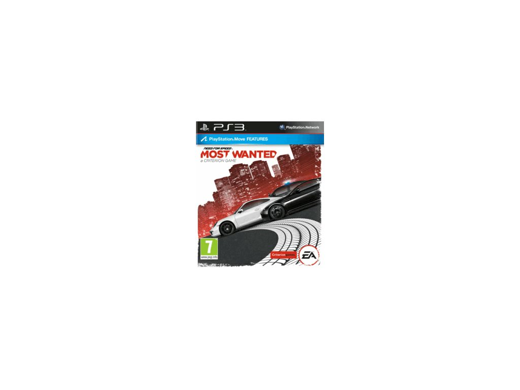 PS3 Need For Speed Most Wanted