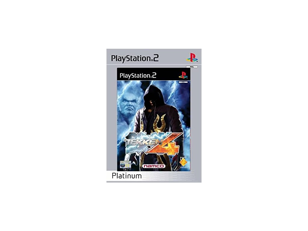 PS2 Tekken 4 PLATINUM