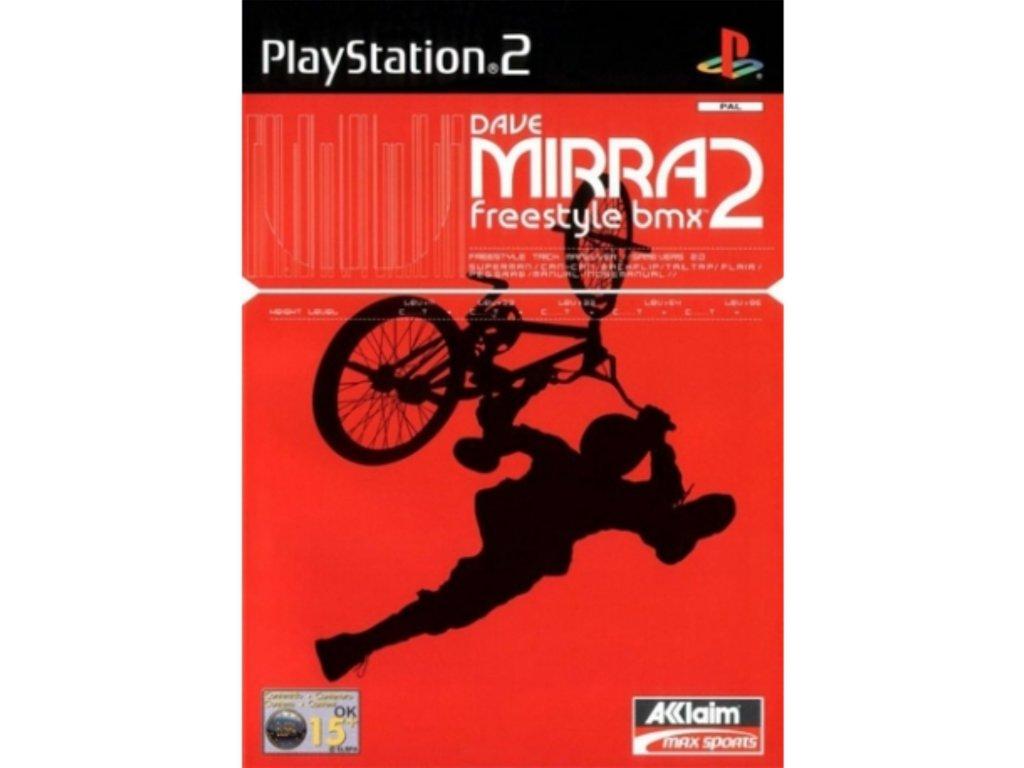 PS2 Dave Mirra Freestyle BMX 2