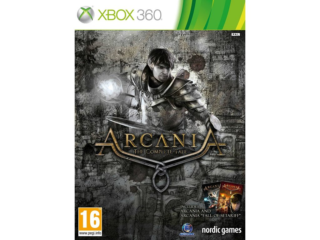 XBOX 360 arcania complete tale