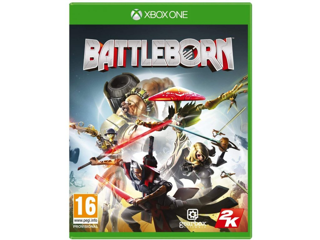 XBOX ONE Battleborn (nová)