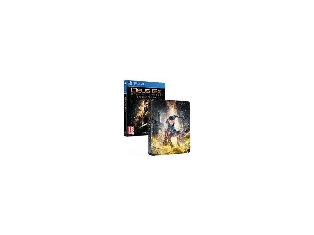 PS4 Deus Ex: Mankind Divided Steelbook Edition