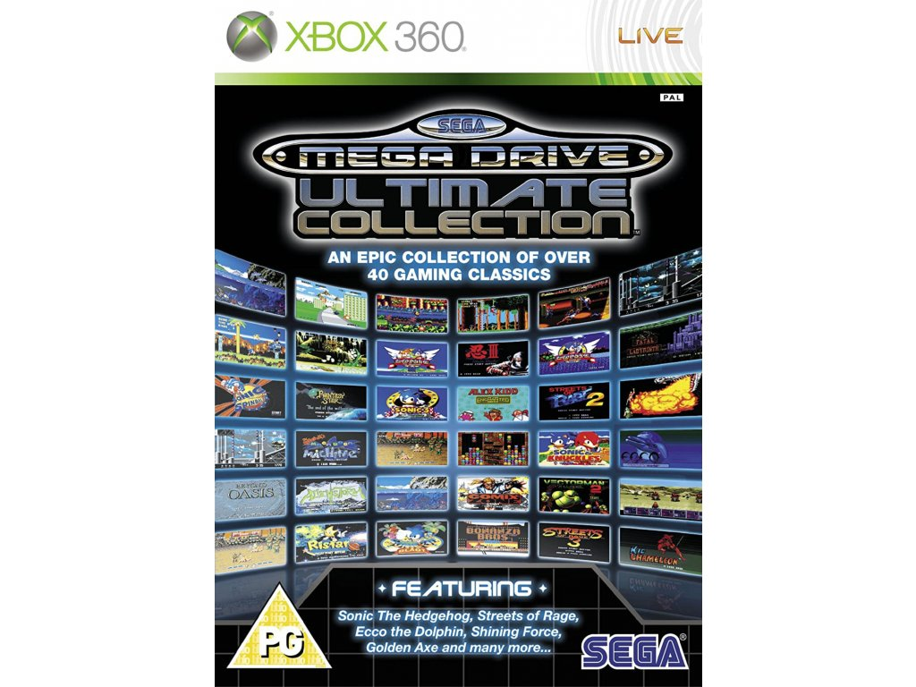 XBOX 360 Sega Mega Drive Ultimate Collection