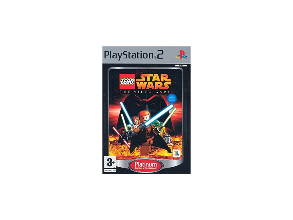 PS2 LEGO STAR WARS THE VIDEO GAME PLATINUM