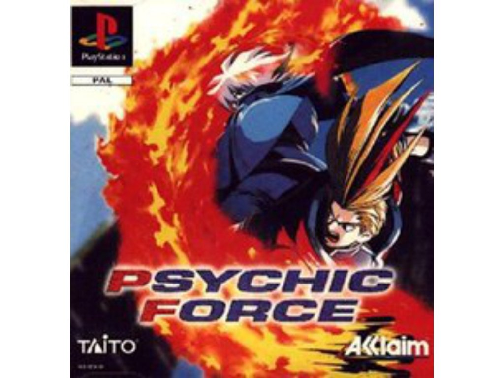 PS1 Psychic force