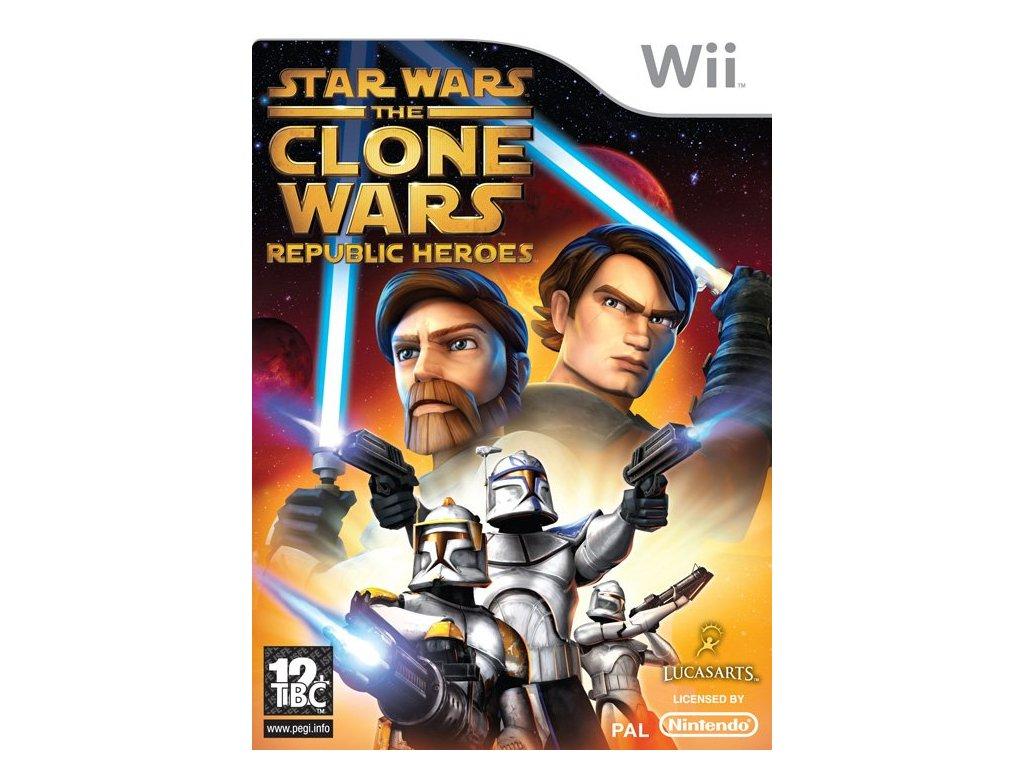Wii star wars republic heroes