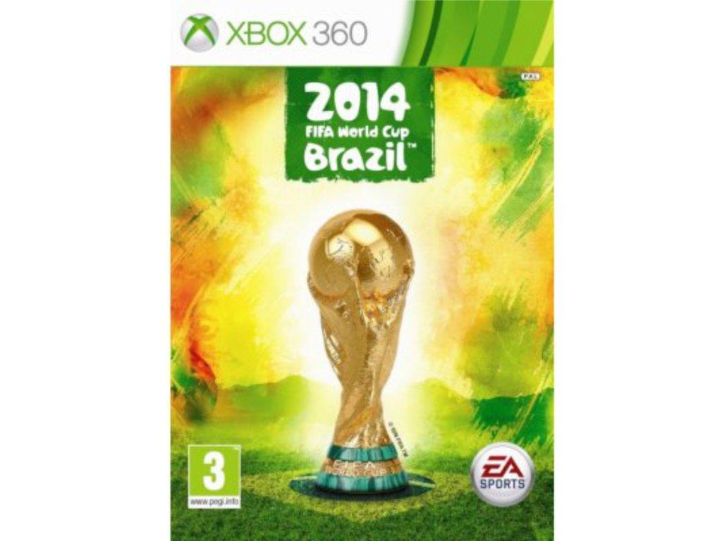 XBOX 360 Fifa world cup brazil 2014