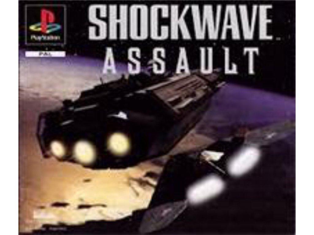 Shockwave Assault ps1