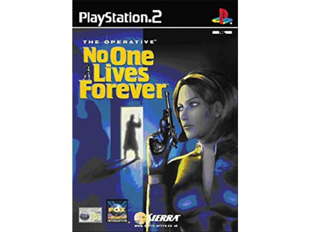 PS2 The Operative No One Lives Forever