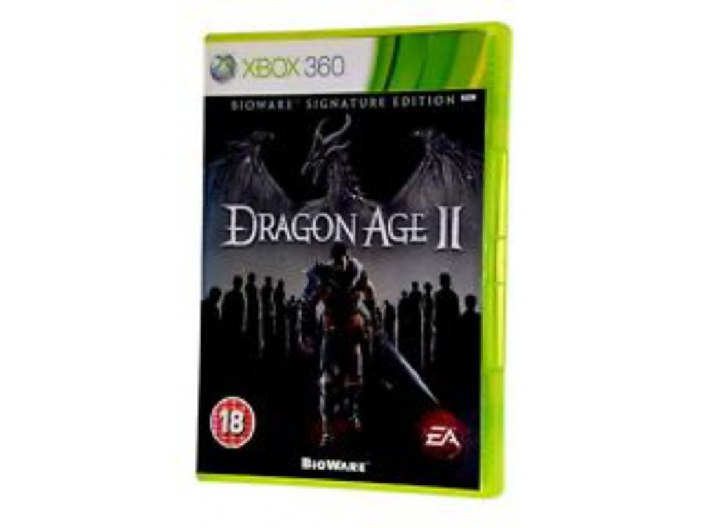 XBOX 360 dragon age 2 signature