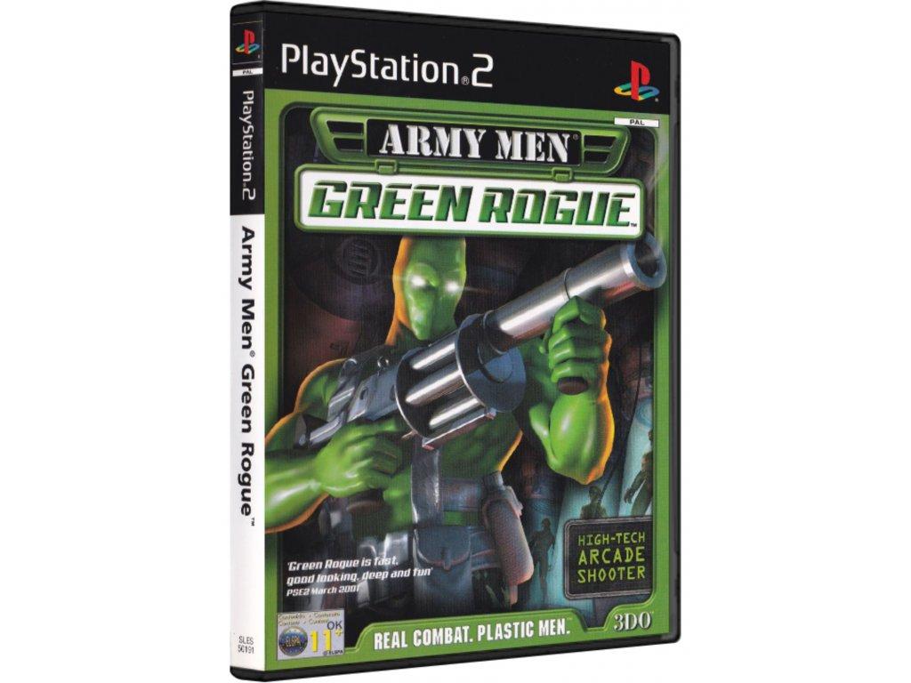ps2 army men green rogue