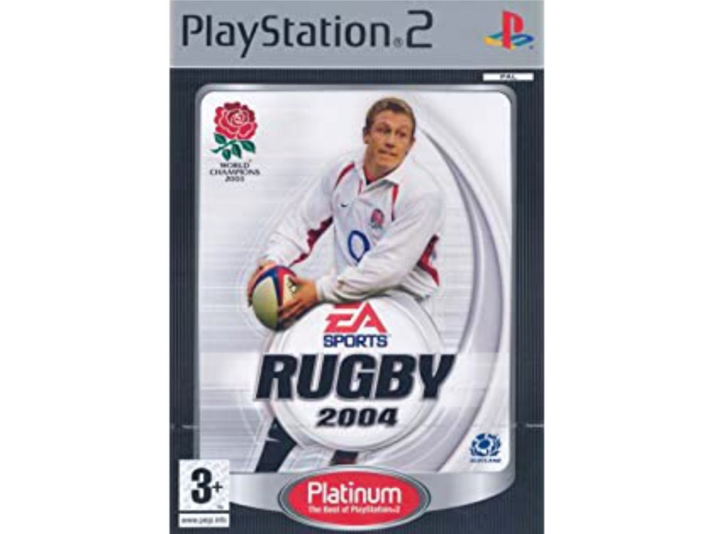 PS2 Rugby 2004 PLATINUM