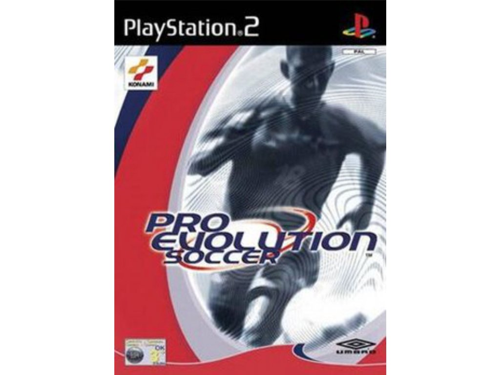 PS2 pro evolution soccer