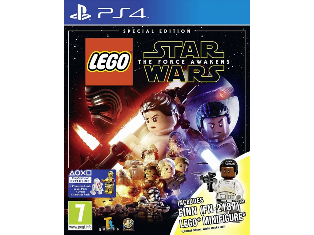 LEGO Star Wars The Force Awakens Special Edition (PS4)