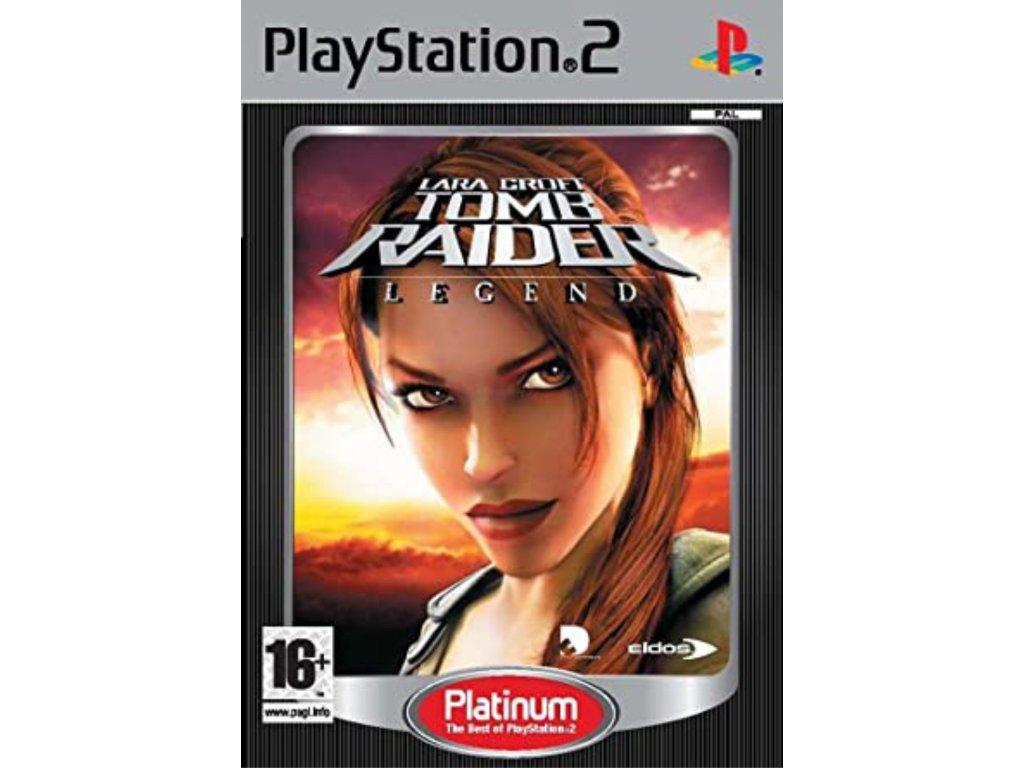PS2 Tomb Raider Legend PLATINUM