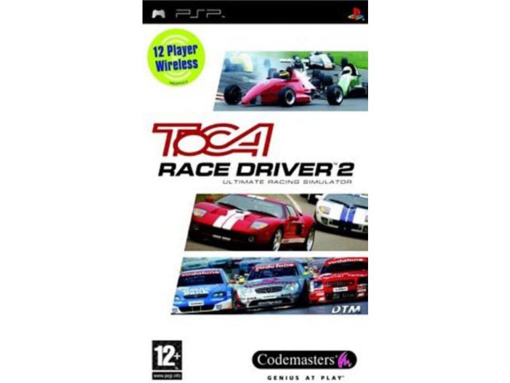 PSP TOCA Race Driver 2