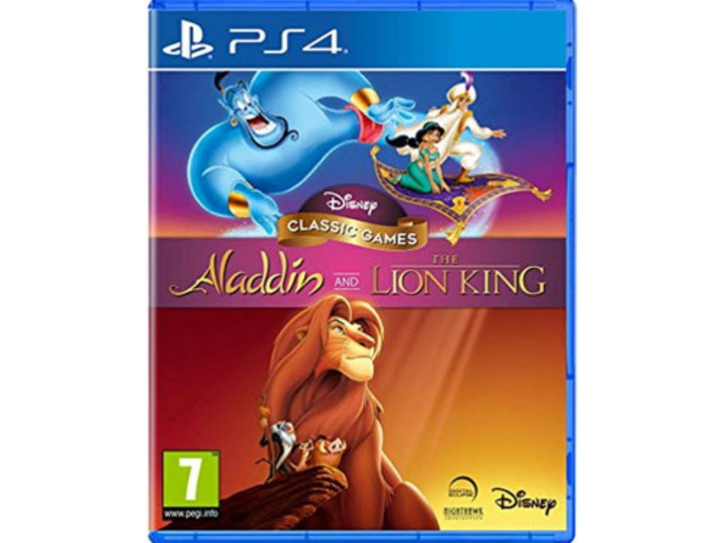 Disney Classic Games Aladdin a The Lion King PS4