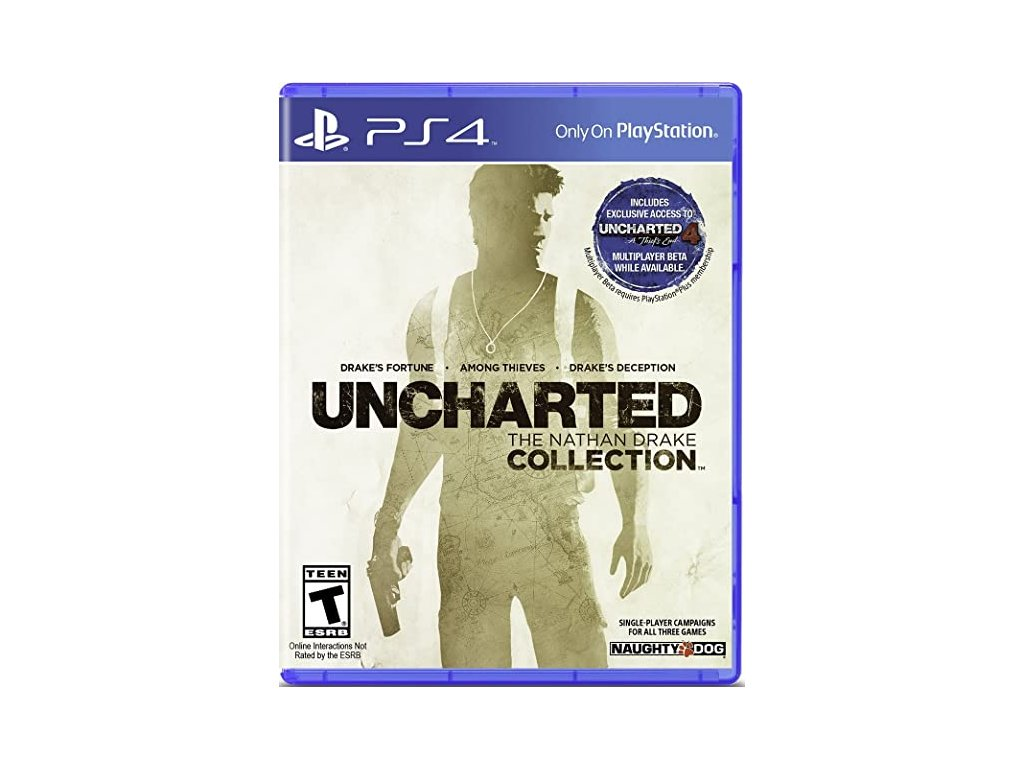 PS4 Uncharted The Nathan Drake Collection CZ