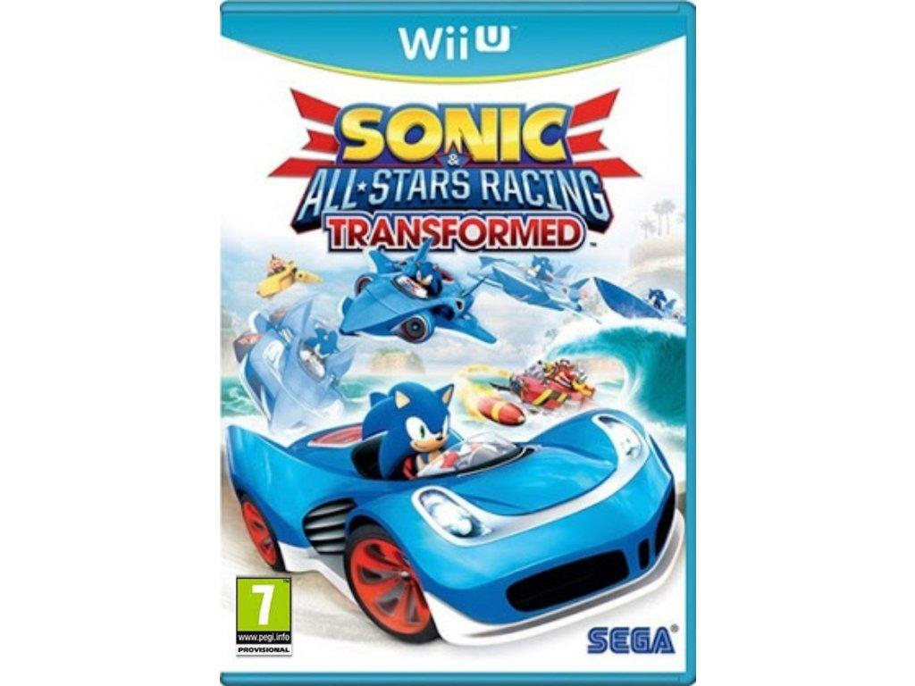 Sonic All Star Racing Transformed wiiu