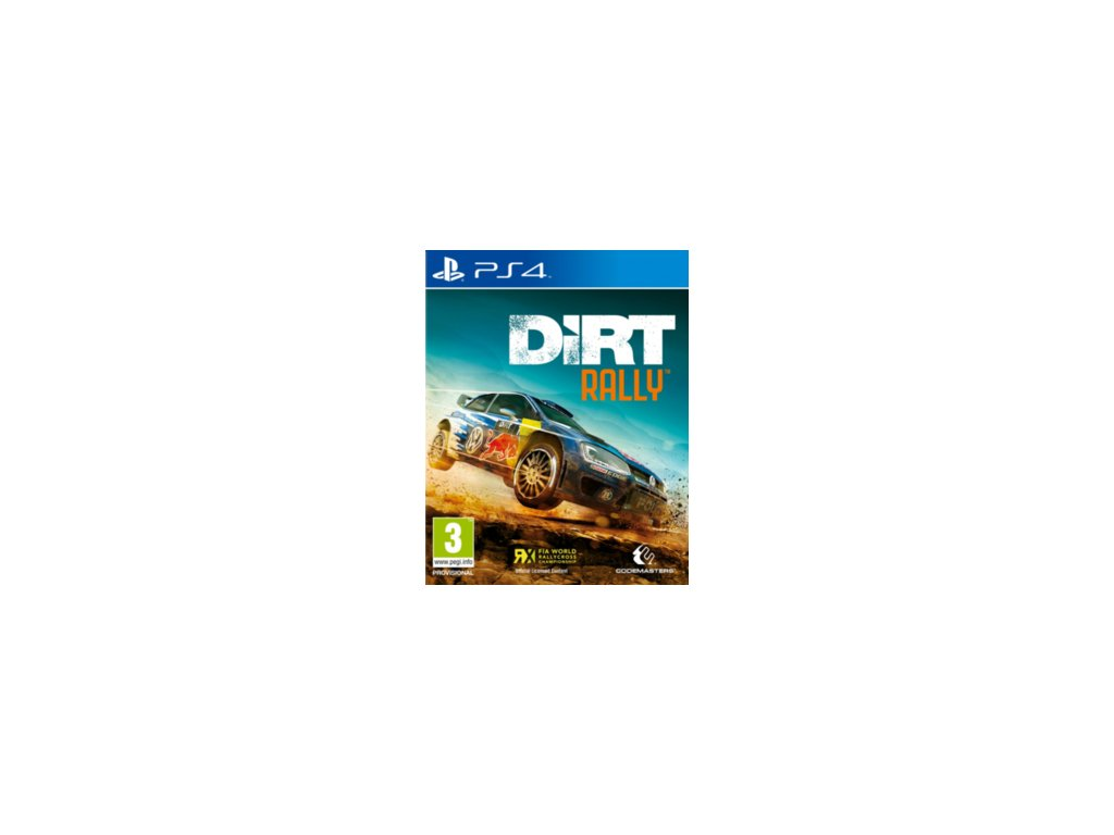 PS4 DiRT Rally