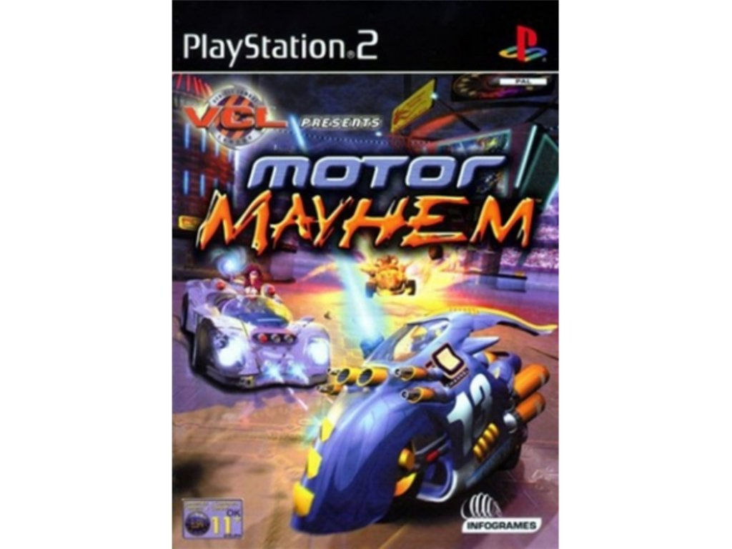 ps2 motor mayhem