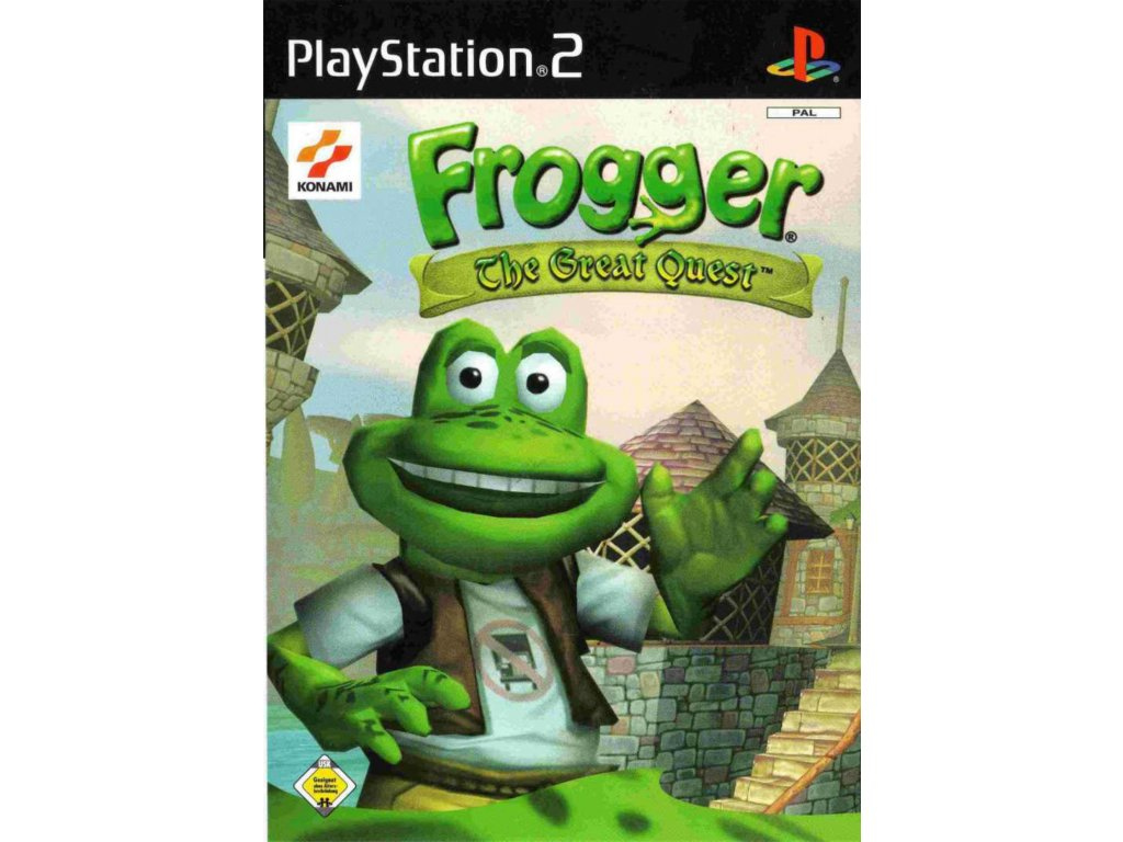ps2 frogger the great quest