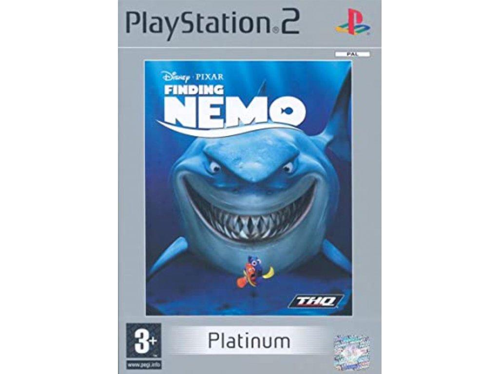 PS2 Finding Nemo PLATINUM