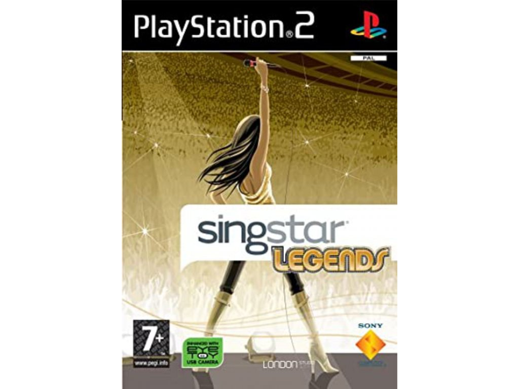 PS2 SingStar Legends