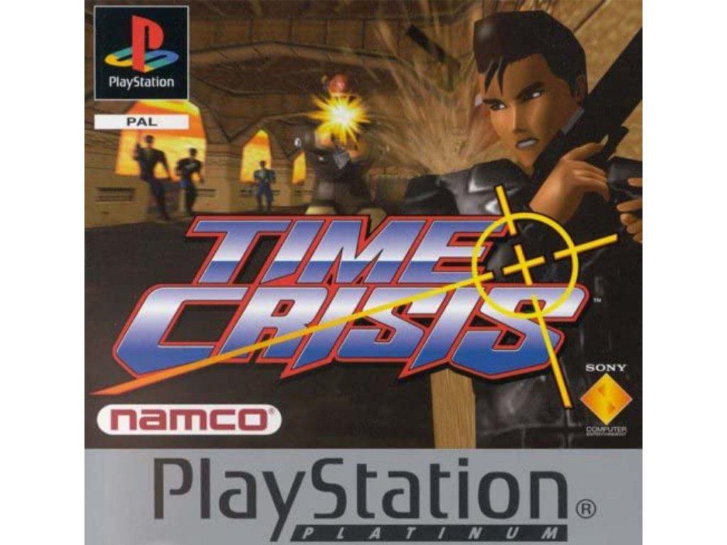 PS1 Time Crisis PLATINUM