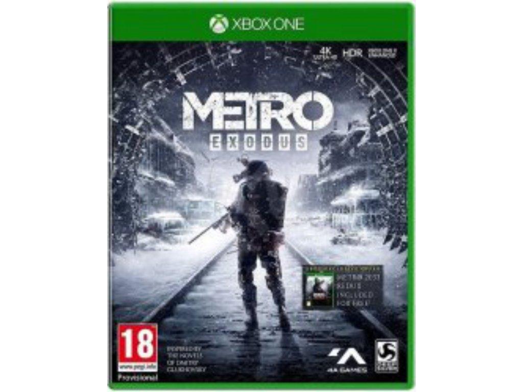 XBOX ONE Metro Exodus CZ
