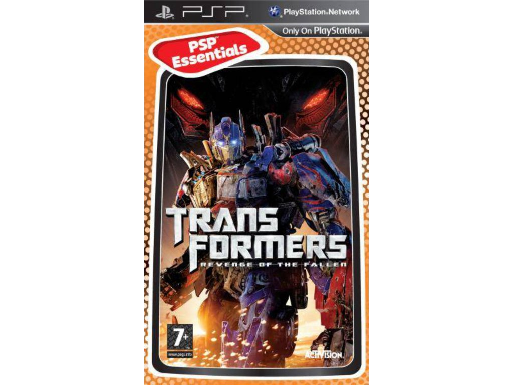 PSP Transformers Revenge of the Fallen The Game