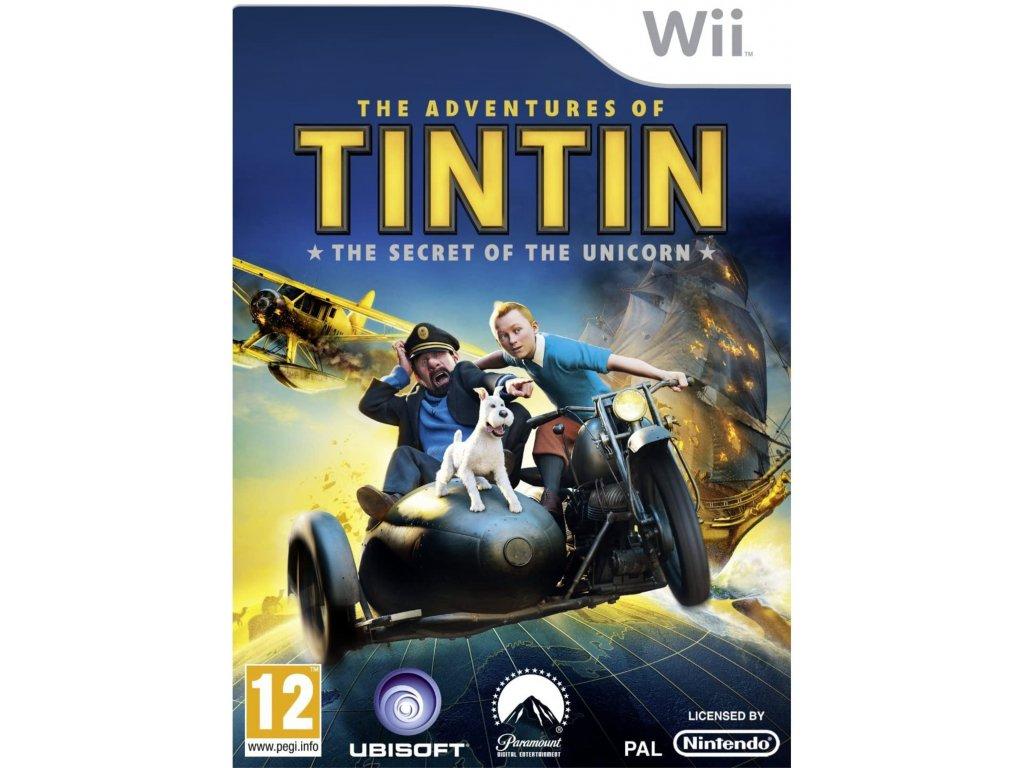 Wii The Adventures of Tintin
