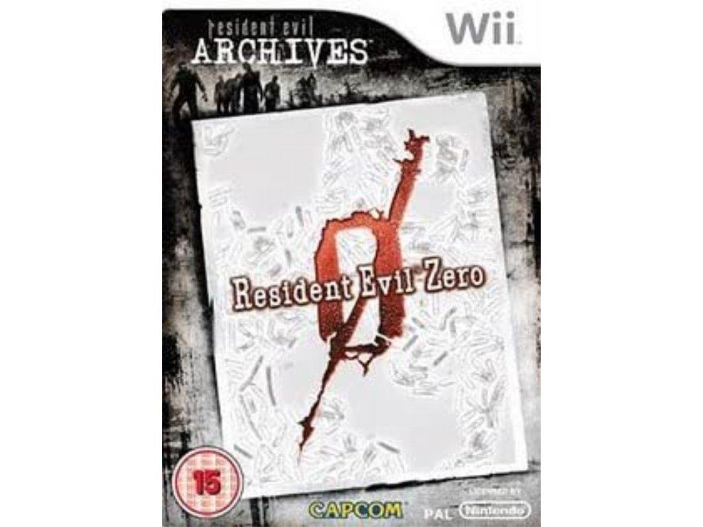 Wii Resident Evil Archives Zero