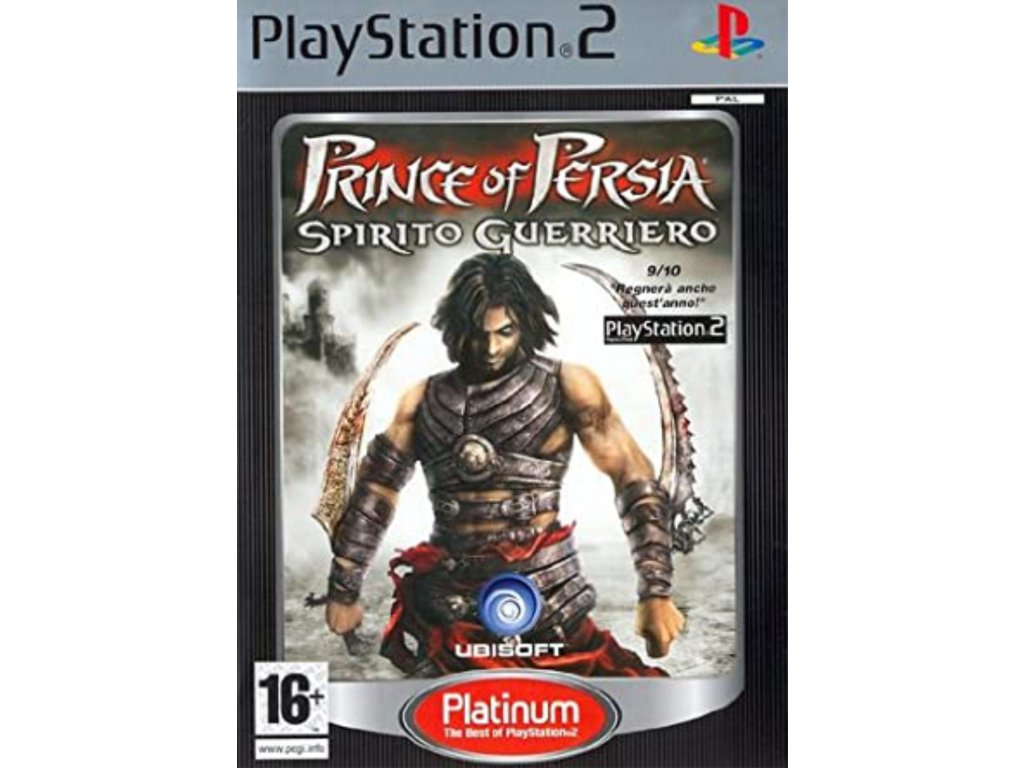 PS2 Prince of Persia Warrior Within PLATINUM