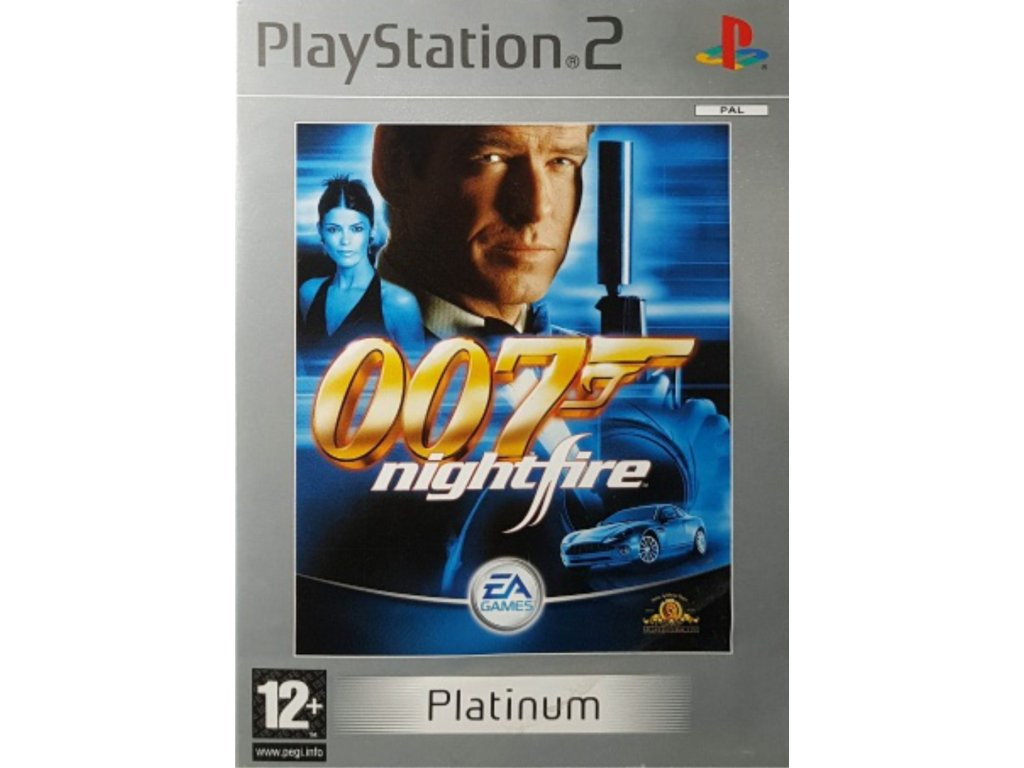 PS2 James Bond 007 Nightfire platinum