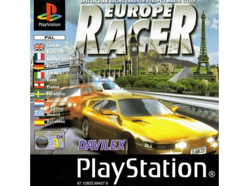 PS1 europe racer